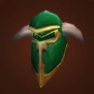 Green Iron Helm Model