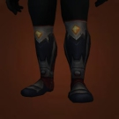 Acidmaw Treads, Icewalker Treads, Acidmaw Treads, Icewalker Treads, Landfall Leather Boots Model