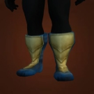Golden Scale Boots Model