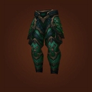 Crafted Dreadful Gladiator's Dreadplate Legguards Model