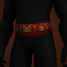 Boar Champion's Belt, Wrathfin Waistband Model