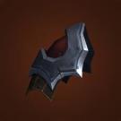 Savage Gladiator's Leather Spaulders Model