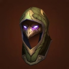 Helm of the Snowy Grotto, Helm of Abundant Growth, Helm of the Snowy Grotto, Peacebreaker's Hide Helm Model