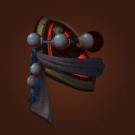 Netherrealm Shoulderpads, Red Crane Mantle, Red Crane Spaulders, Red Crane Shoulderguards Model