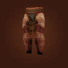 Rough Bronze Leggings Model