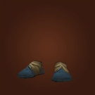 Sandals of Sympathetic Healing, Contender's Satin Footwraps, Flameheart Sandals Model