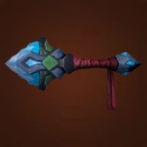 Coldsinger Scepter, Rugged Crystal Cudgel Model