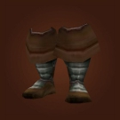 Silvered Bronze Boots Model