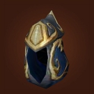 Azure Dragonleather Helm Model
