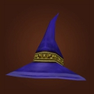 Silk Wizard Hat Model