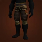 Furious Gladiator's Silk Trousers Model