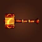 Lavaforged Warhammer Model