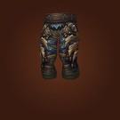 Dreadful Gladiator's Leather Legguards Model