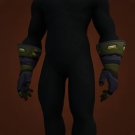 Nightsky Gloves, Gloves of Shadowy Mist, Opulent Gloves Model