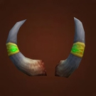 Horns of the Left Hand Path, Horns of Justified Sins, Felheart Horns, Mag'hari Ritualist's Horns Model