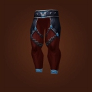 Vengeful Gladiator's Mooncloth Leggings, Vengeful Gladiator's Satin Leggings Model