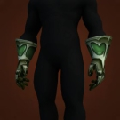 Fel Iron Chain Gloves Model