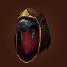 Quilen Hide Helm, Lightning-Eye Hood, Nine-Tailed Helmet, Lightning-Eye Hood Model