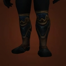 Loam-Stained Greaves Model