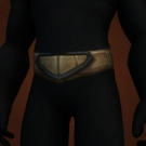Wasteland Hide Belt, Wasteland Leather Belt Model