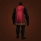 Imbued Simple Cape, Flame Retardant Sheet, Ritual Cape, Buccaneer's Cape, Wrap of Open Menace Model