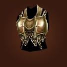 Barbaric Iron Breastplate Model