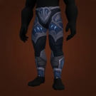 Leggings of Unstable Discharge Model