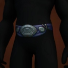 Contender's Wyrmhide Belt, Jinyu-Polished Waistband, Hozen-Crafted Waistband, Ale-Boiled Waistband Model