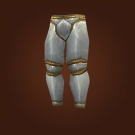 Handcrafted Mastersmith Leggings, Imperial Plate Leggings Model