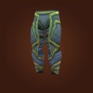 Traveler's Leggings, Leggings of Immersion, Chimaerahide Pants Model
