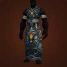 Cataclysmic Gladiator's Satin Robe, Cataclysmic Gladiator's Mooncloth Robe Model