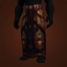 Puresteel Legplates, Leggings of Dying Candles, Corrupted Silverplate Leggings Model