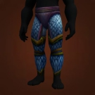 Windrunner Legguards, Blue Dragonscale Leggings, Scaled Leggings of Qiraji Fury, Nagascale Legguards, Area 52 Defender's Pants, Brood Mother Leggings, Razaani-Buster Leggings Model
