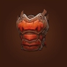 Volcanic Breastplate, Blood Tiger Breastplate Model