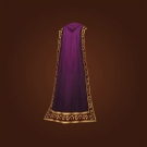 Long Silken Cloak, Crushed Velvet Cloak Model