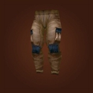 Heavy Woolen Pants Model