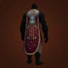 Bloody-Blade Drape, Soot-Scarred Longcloak, Blazemender Cloak Model