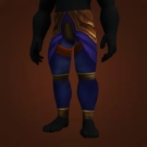Azureplate Greaves, Vanquisher's Legplates Model