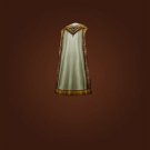 Archivist Cape, White Remedy Cape, Ceremonial Cover Model