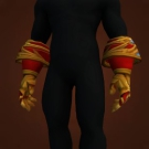 Replica Knight-Lieutenant's Dreadweave Gloves, Replica Knight-Lieutenant's Dreadweave Handwraps Model