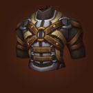 Forlorn Breastplate of War, Eregos' Ornamented Chestguard, Ornate Saronite Hauberk, Silver-Plated Battlechest, Ziggurat Imprinted Chestguard Model