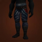 Malevolent Gladiator's Silk Trousers, Crafted Malevolent Gladiator's Silk Trousers Model
