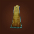 Silksand Cape, Lace-Trimmed Cloak Model