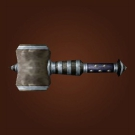 Runed Mithril Hammer Model