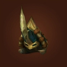 Snowserpent Mail Helm, Sanctified Ahn'Kahar Blood Hunter's Headpiece, Taldron's Short-Sighted Helm Model
