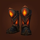 Molten Tantrum Boots Model