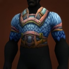 Blue Dragonscale Breastplate Model