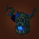 Headpiece of the Haunted Forest, Helm of the Haunted Forest, Cover of the Haunted Forest, Headguard of the Haunted Forest Model
