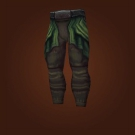 Railwalker Britches, Legguards of the Unstoppable Charge, Treated Wildhide Leggings Model