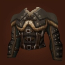 Bulge-Concealing Breastplate, Dark Arctic Chestpiece, Exotic Leather Tunic, Custodian's Chestpiece Model
